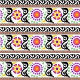 Abstrakter dekorativer Musterzusammenfassungshintergrund Stockfotos