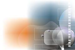 Abstrakter Digital-Hintergrund Stockfoto