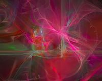 Abstrakter digitaler Fractal, Fantasieentwurf, Partei futuristisch lizenzfreie abbildung