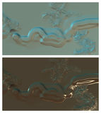 Abstrakter digitaler Hintergrund Lizenzfreie Stockfotografie