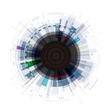 Abstrakter digitaler Hintergrund Lizenzfreies Stockfoto