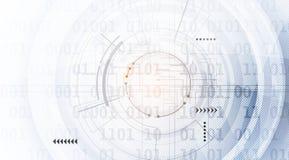 Abstrakter digitaler Websitetitel Grüner Hintergrund Lizenzfreies Stockbild