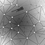 Abstrakter DNA-Hintergrund Stockfoto