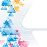 Abstrakter Dreieck-Hintergrund vektor abbildung