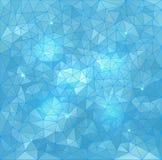 Abstrakter Dreieck-Vektor-Wasser-Hintergrund stock abbildung