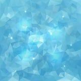 Abstrakter Dreieck-Vektor-Wasser-Hintergrund lizenzfreie abbildung