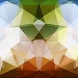 Abstrakter Dreieckhintergrund Stockfotos