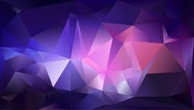 Abstrakter Dreieckhintergrund Stockfotografie