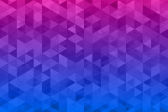 Abstrakter Dreieckhintergrund Lizenzfreies Stockfoto