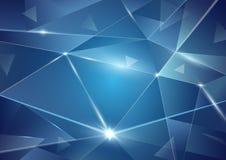 Abstrakter Dreieckhintergrund Lizenzfreies Stockbild