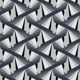 Abstrakter dreieckiger Hintergrund in den Graphitfarben Städtisch Lizenzfreies Stockfoto