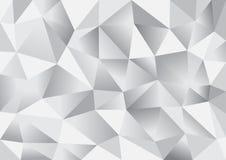 Abstrakter Dreieckpolygonhintergrund Stockbilder