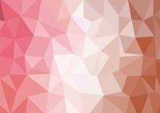 Abstrakter Dreieckpolygonhintergrund Stockfotos