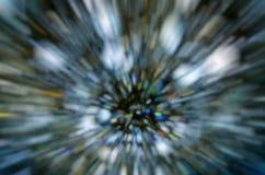 Abstrakter dunkler bokeh Hintergrund in der Bewegung stockbilder