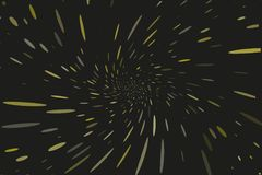 Abstrakter, dynamischer Bewegungshintergrund Vector die Illustration, die von der Mitte der Strahlen, die Sprays ausstrahlt Stockbilder