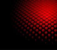 abstrakter dynamischer roter Hintergrund 3d stock abbildung