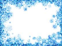 Abstrakter Eisrahmen Stockbild