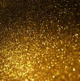 Abstrakter eleganter Goldhintergrund mit Kopienraum Lizenzfreie Stockbilder