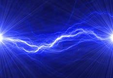 Abstrakter elektrischer Hintergrund Lizenzfreie Stockfotos