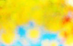 Abstrakter Fallhintergrund Stockbild