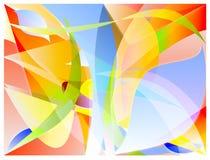 Abstrakter Farbenvektor stock abbildung