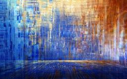 Abstrakter Farbhintergrund u. -tapete stock abbildung