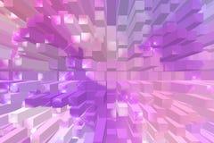 Abstrakter Farbhintergrund, warme Farbgeometrische Formen vektor abbildung