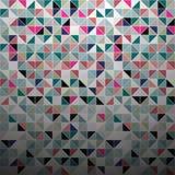 Abstrakter Farbmosaikhintergrund Lizenzfreie Stockfotos