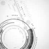 Abstrakter Farbtechnologiehintergrund/Computertechnologiegeschäft Lizenzfreie Stockfotografie