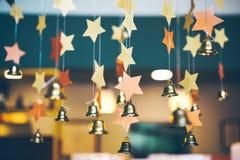 Abstrakter festlicher Hintergrund, dekorative Dekoration, vom sta Stockbild