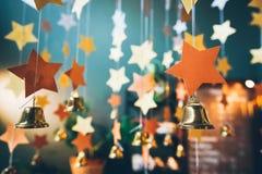 Abstrakter festlicher Hintergrund, dekorative Dekoration, vom sta Stockfotografie