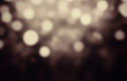Abstrakter festlicher Hintergrund Funkelnweinlese beleuchtet Hintergrund w Lizenzfreie Stockbilder