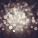 Abstrakter festlicher Hintergrund Funkelnweinlese beleuchtet Hintergrund w Lizenzfreies Stockfoto