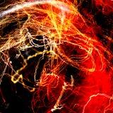 Abstrakter Feuer-Hintergrund Lizenzfreie Stockfotos
