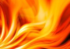 Abstrakter Feuerhintergrund Stockfoto