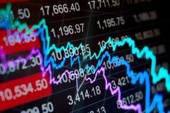 Abstrakter Finanzhintergrund Lizenzfreie Stockfotos