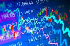 Abstrakter Finanzhintergrund Lizenzfreies Stockfoto