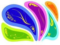 Abstrakter Flora-Hintergrund Stock Abbildung