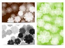 Abstrakter Florahintergrund Lizenzfreies Stockbild