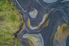 abstrakter Fluss 60208247 Lizenzfreies Stockfoto