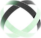 Abstrakter Formvektorzauntritt Lizenzfreie Stockbilder