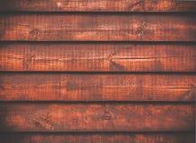 Abstrakter foxy roter hölzerner Hintergrund Lizenzfreies Stockfoto