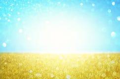 Abstrakter Frühling und Sommerhintergrund Lizenzfreie Stockfotos