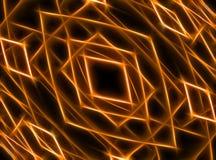Abstrakter Fractal computererzeugt Stockbild