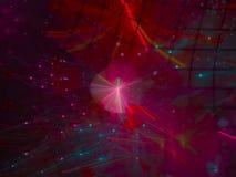 Abstrakter Fractal Digital, schöner Entwurf, Fantasie, festlich vektor abbildung