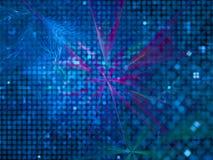 Abstrakter Fractal Digital, schöner Entwurf, Fantasie, festlich lizenzfreie abbildung