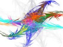 Abstrakter Fractal-Hintergrund Lizenzfreies Stockfoto