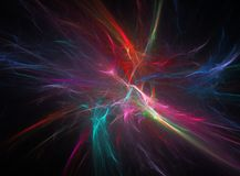 Abstrakter Fractal-Hintergrund stockfotografie