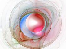 Abstrakter Fractal-Hintergrund lizenzfreie stockfotografie