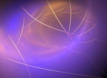 Abstrakter Fractal-Hintergrund stockfoto